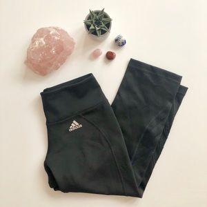 Black Adidas Cropped Leggings